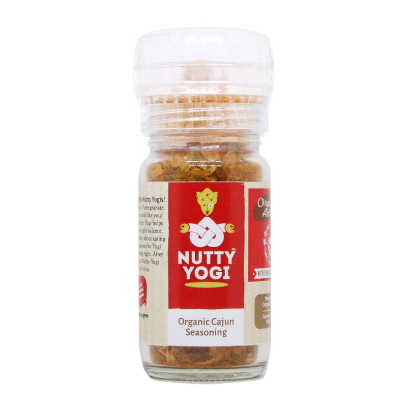 Organic Cajun Seasoning - Nutty Yogi