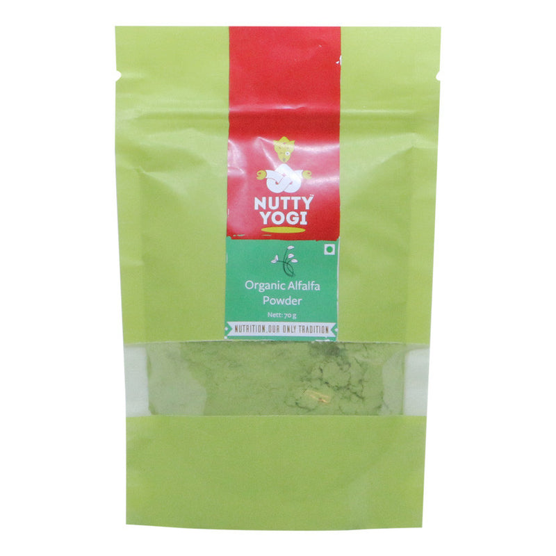 Alfalfa Powder - Nutty Yogi