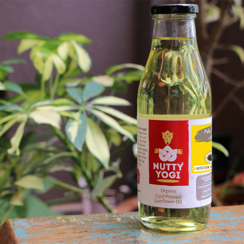 Organic Sunflower Oil - Nutty Yogi