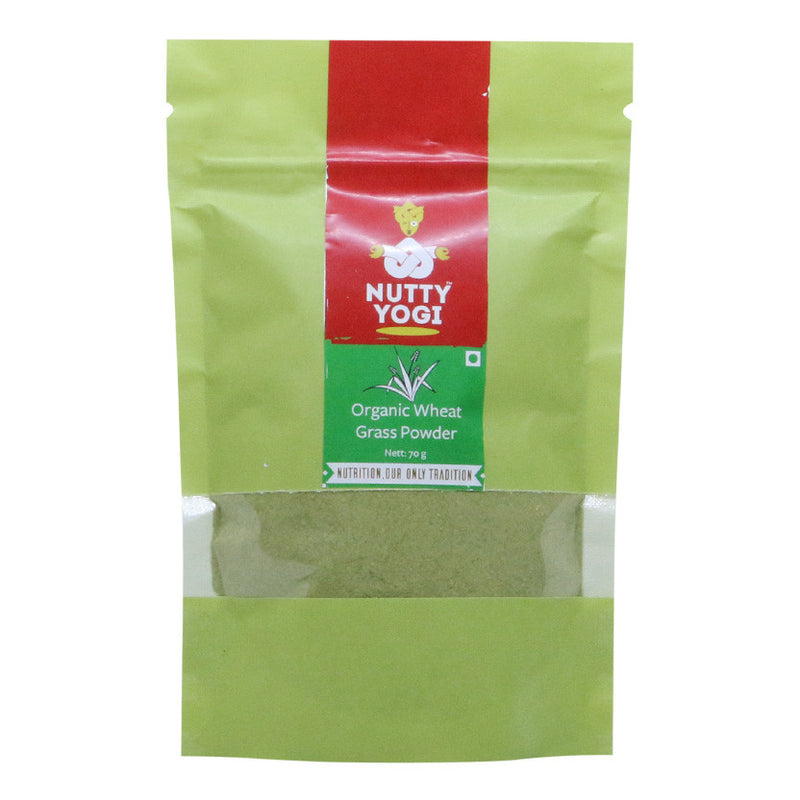 Wheat Grass Powder - Nutty Yogi