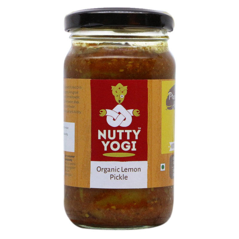 Organic Lemon Pickle - Nutty Yogi