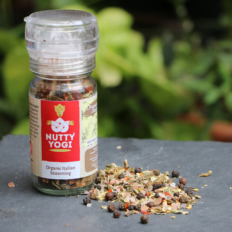 Organic Italian Herb Seasoning.