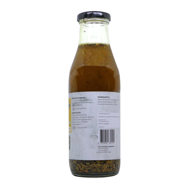 Panchphoran infused Mustard Oil - Nutty Yogi