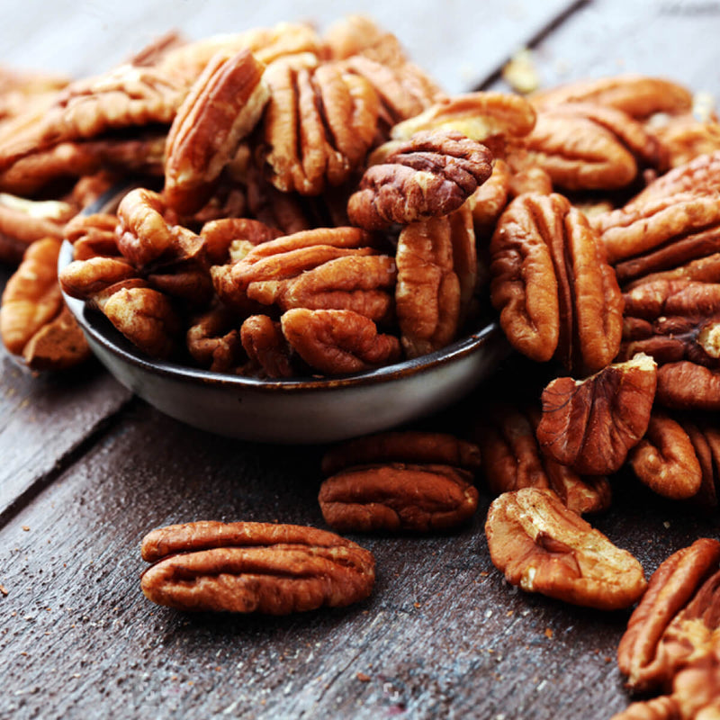 Roasted & Salted Pecans.