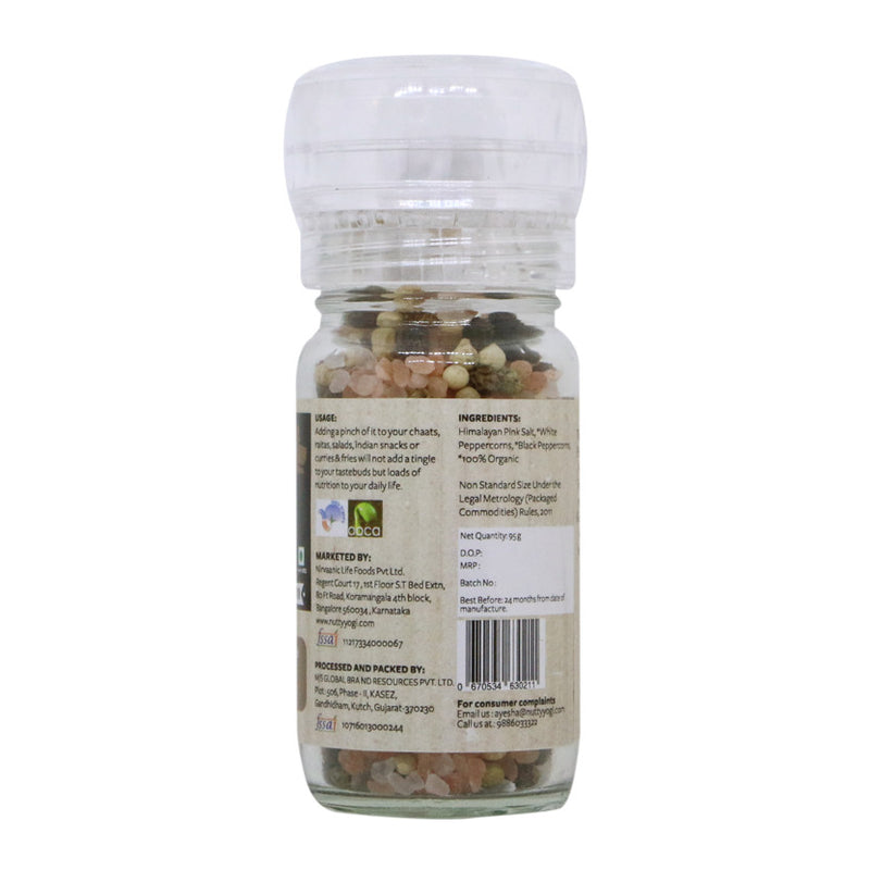 Organic Pink Salt and Pepper Mix - Nutty Yogi