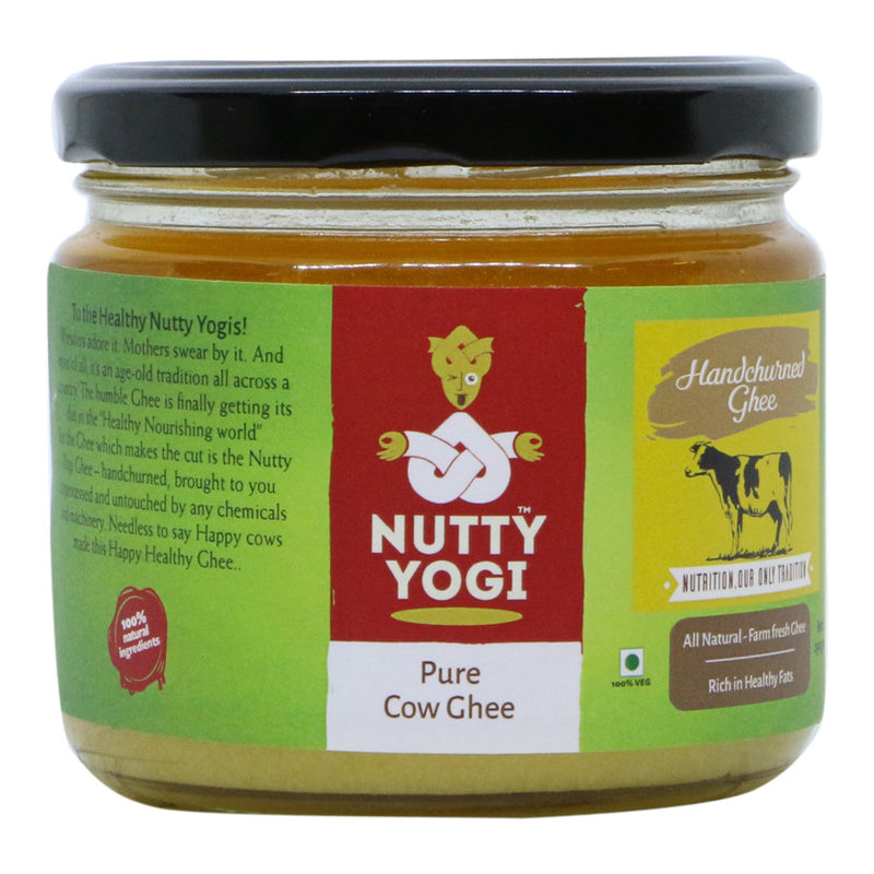 Pure Cow Ghee - Nutty Yogi
