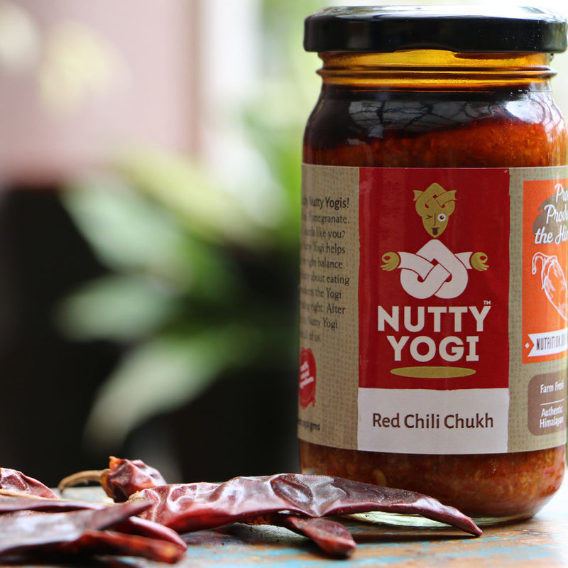 Red Chilli Chukh - Nutty Yogi