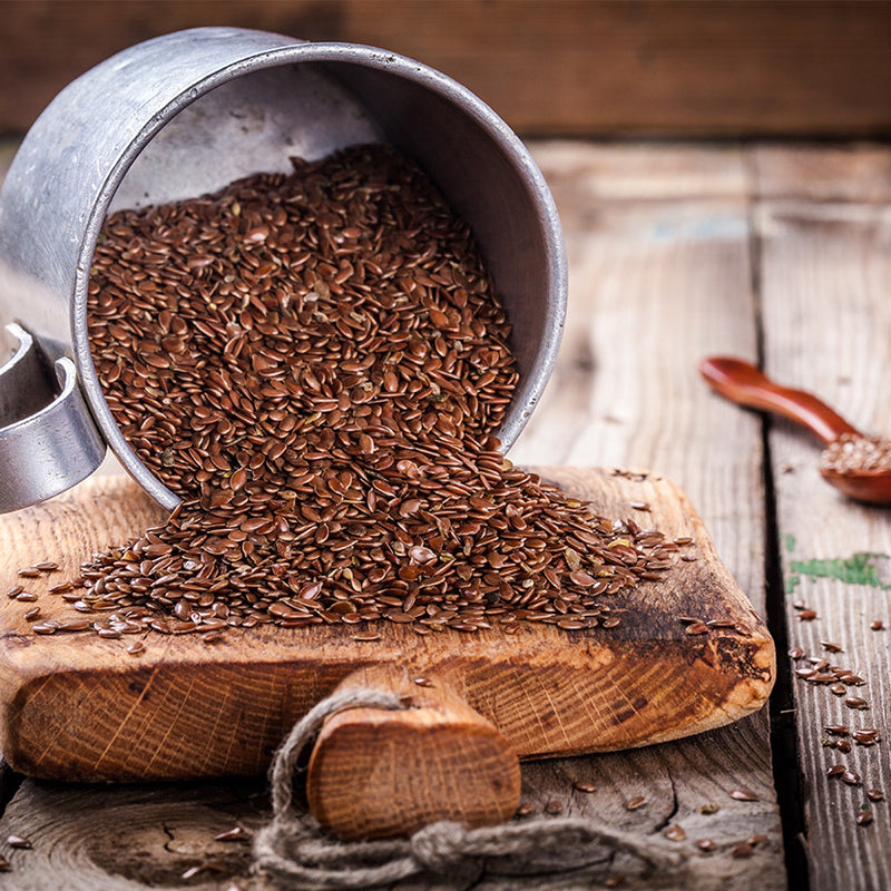 Roasted Flax Seeds - Nutty Yogi