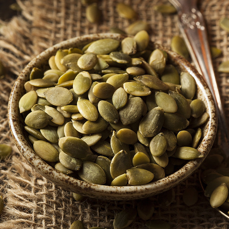 Honey Roasted Pumpkin Seeds - Nutty Yogi