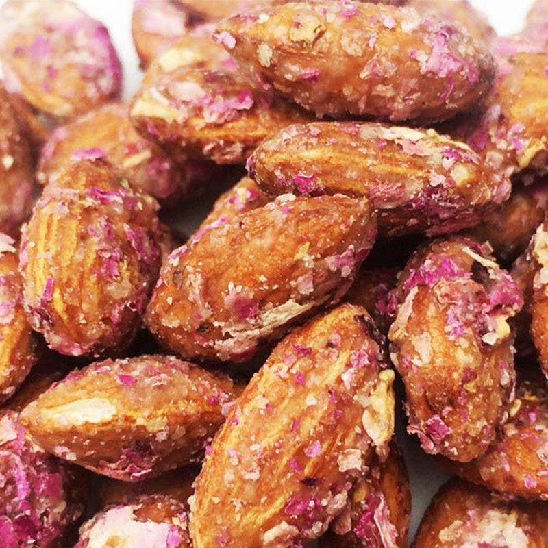 Rose Petal Almonds - Nutty Yogi