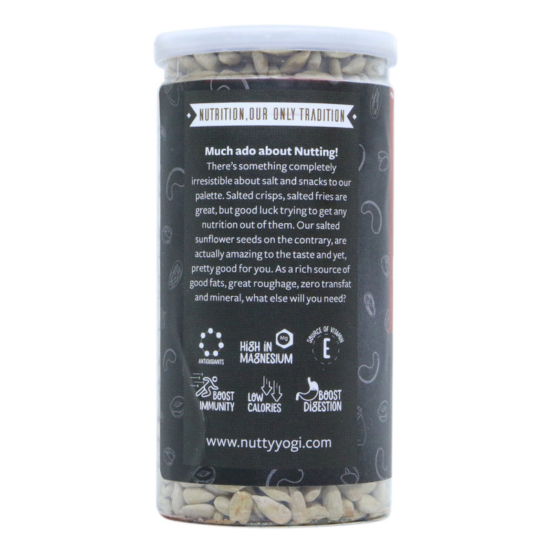 Salted Sunflower Seeds - Nutty Yogi
