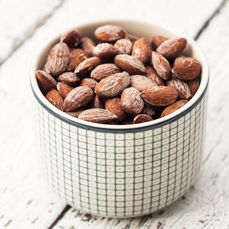 Healthy Treat Roasted Salted Almonds.