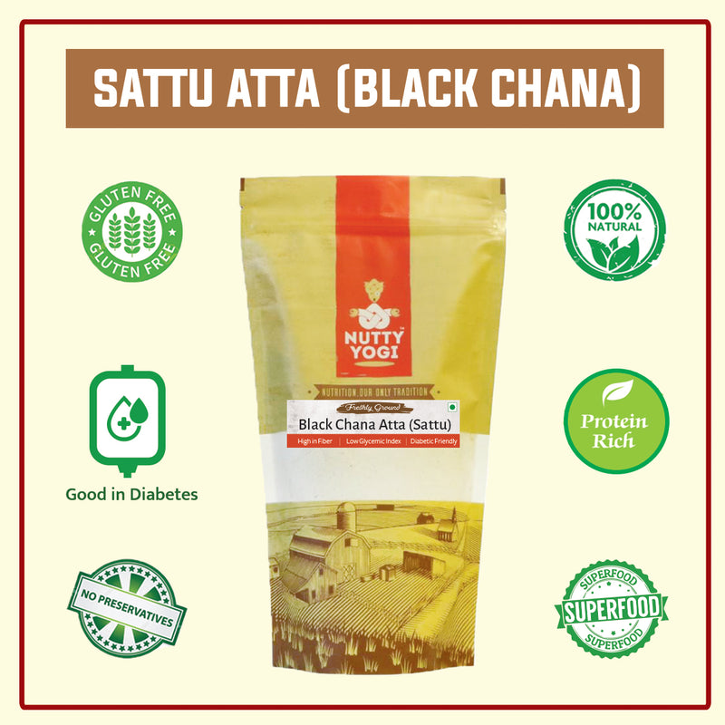Black Chana Atta (Sattu)