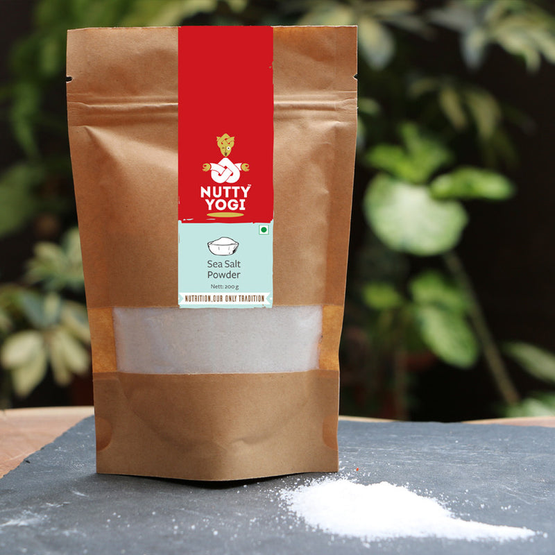 Sea Salt Powder - Nutty Yogi