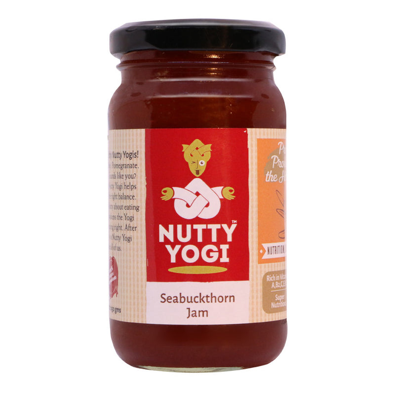 Seabuckthorn Jam - Nutty Yogi
