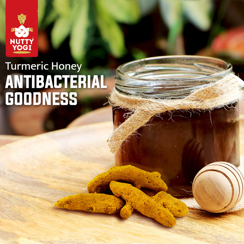Turmeric Honey - Nutty Yogi