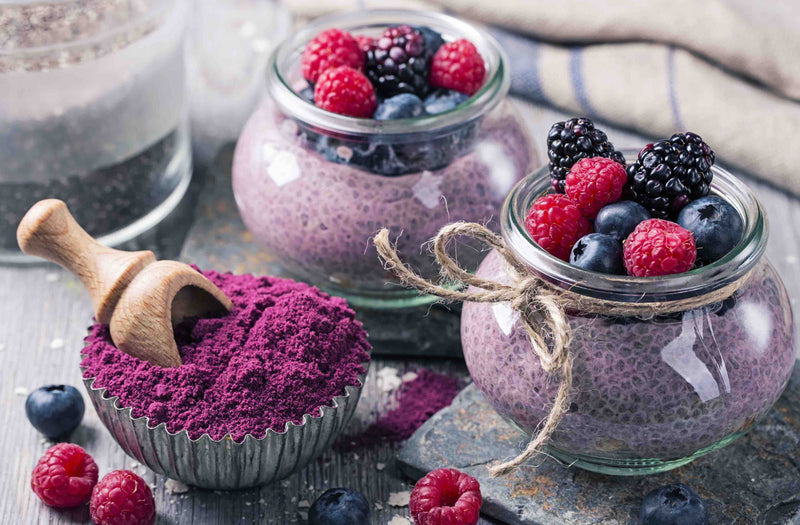 Spray Dried Acai Berry Powder 100 gm.