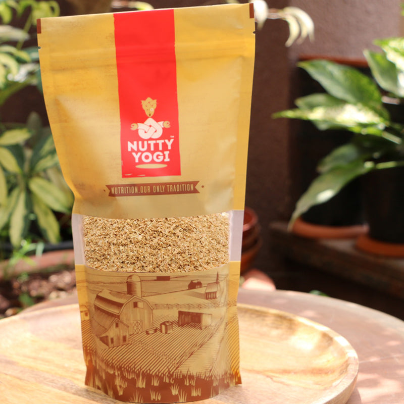Organic Wheat Bran - Nutty Yogi