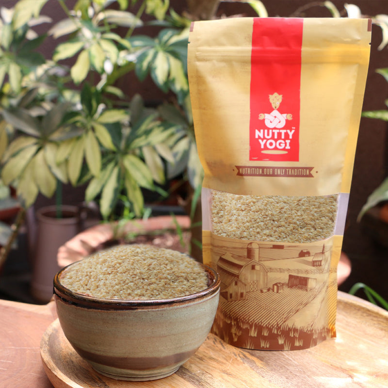 Organic Broken Wheat Daliya - Nutty Yogi