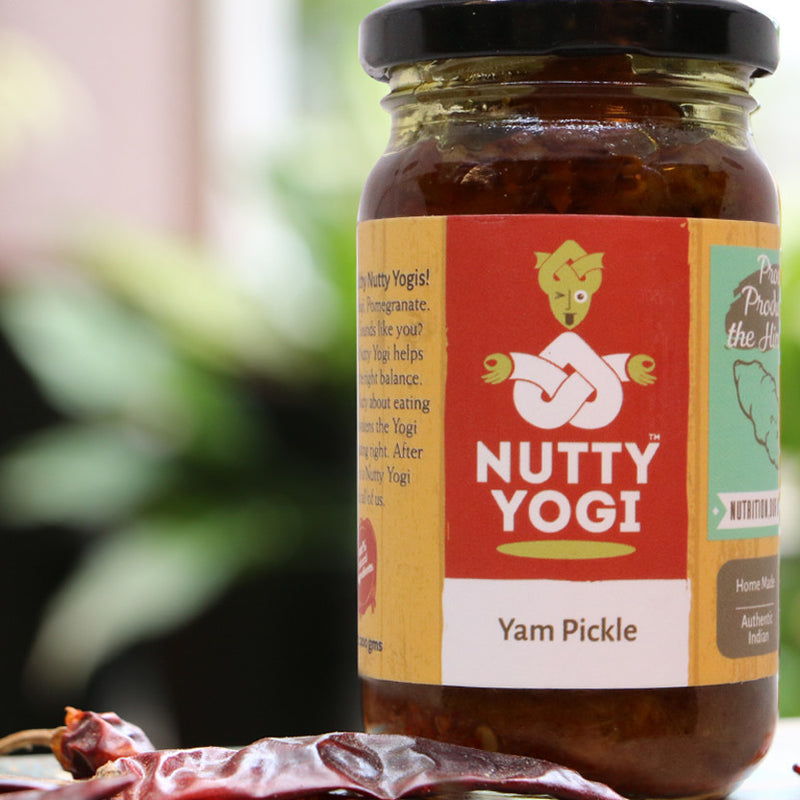 Yam Pickle - Nutty Yogi
