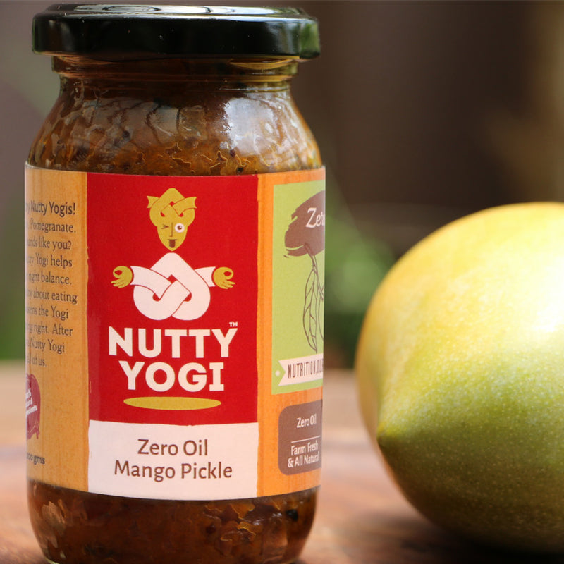 Zero Oil Mango Pickle