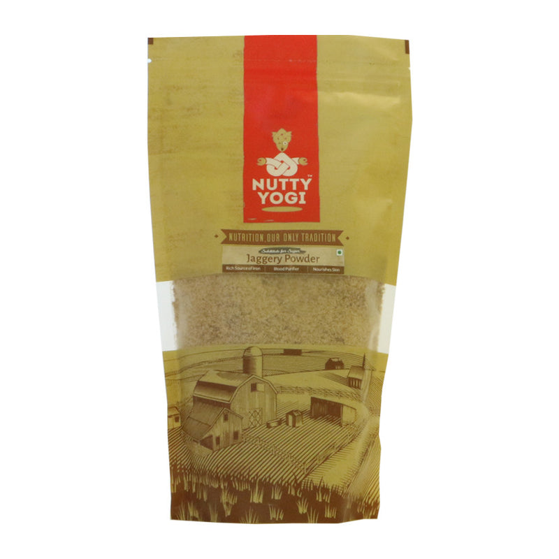 Jaggery Powder / Gud - Nutty Yogi