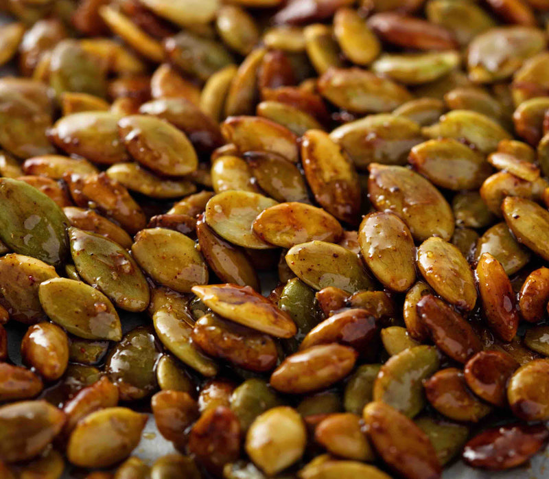 Peri Peri Roasted Pumpkin Seeds.