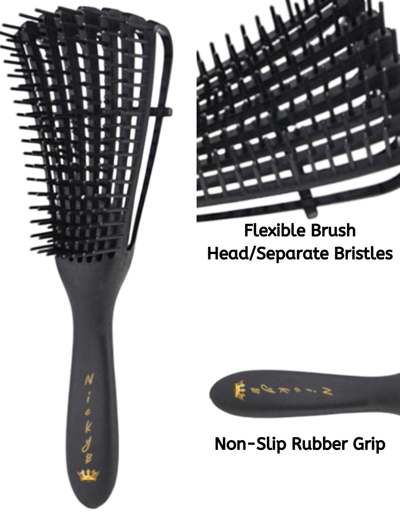 NickyB Detangling Brush - Beyoutiful Hair by Nicky