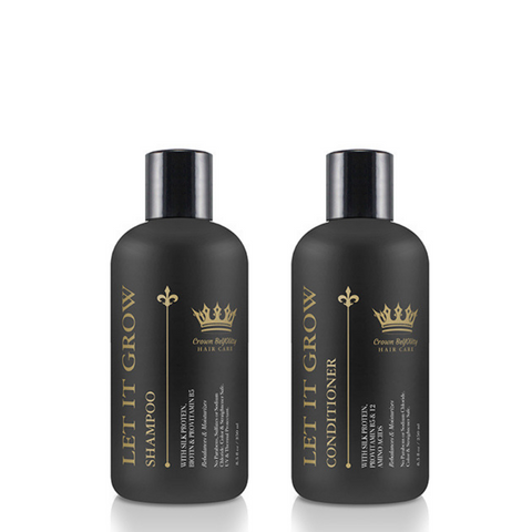 Let It Grow Shampoo & Conditioner Bundle - Beyoutiful Hair by Nicky