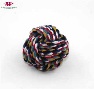 Durable Rope Ball- Dog Chew Toy for Aggressive Chewers