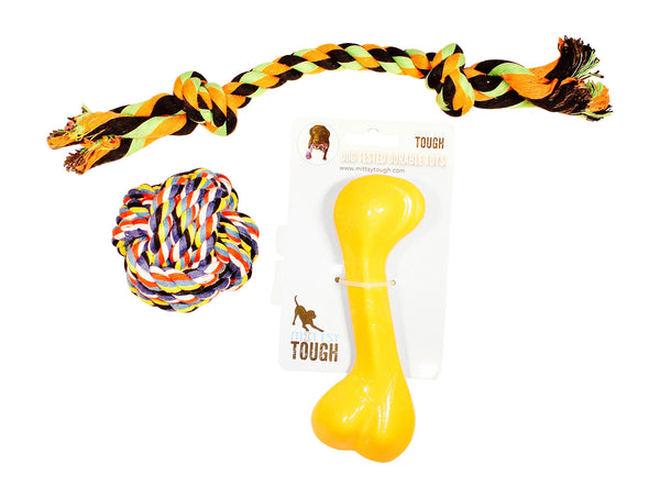 Nylon Bone and Rope Toys bundle