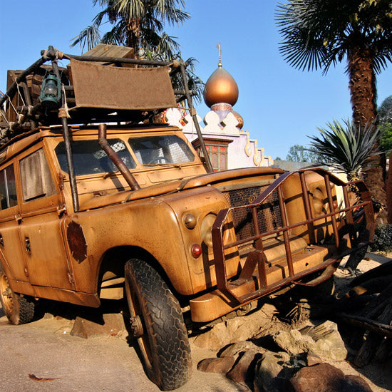 Adventure travel - Land Rover