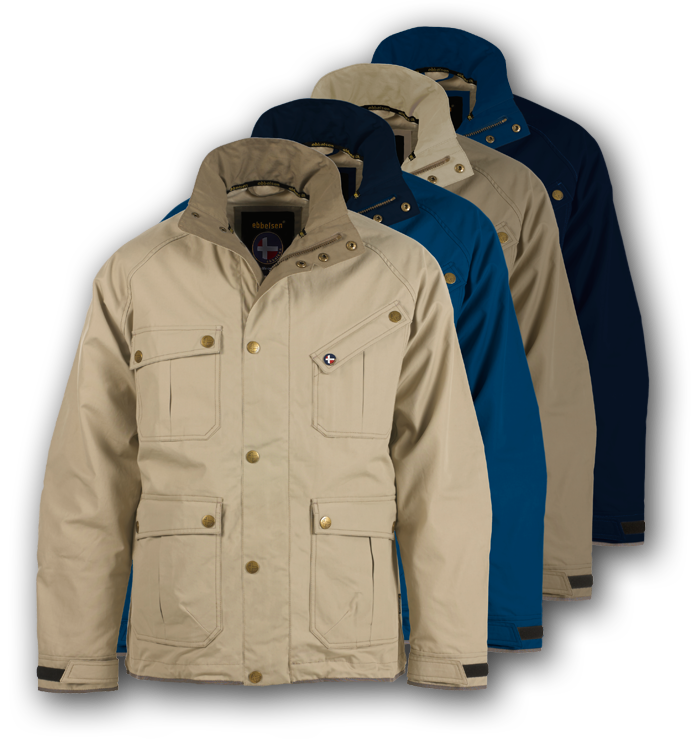 Ebbelsen adventure travel jackets