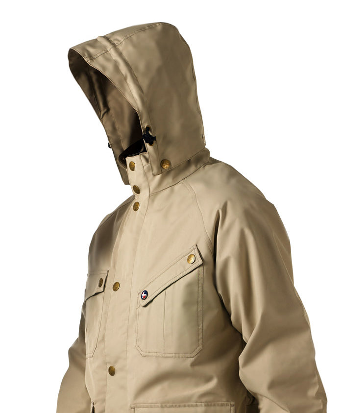 Ebbelsen jacket with hood