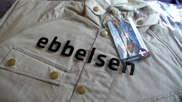 Ebbelsen jacket packaged