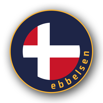 Ebbelsen outdoor jackets logo
