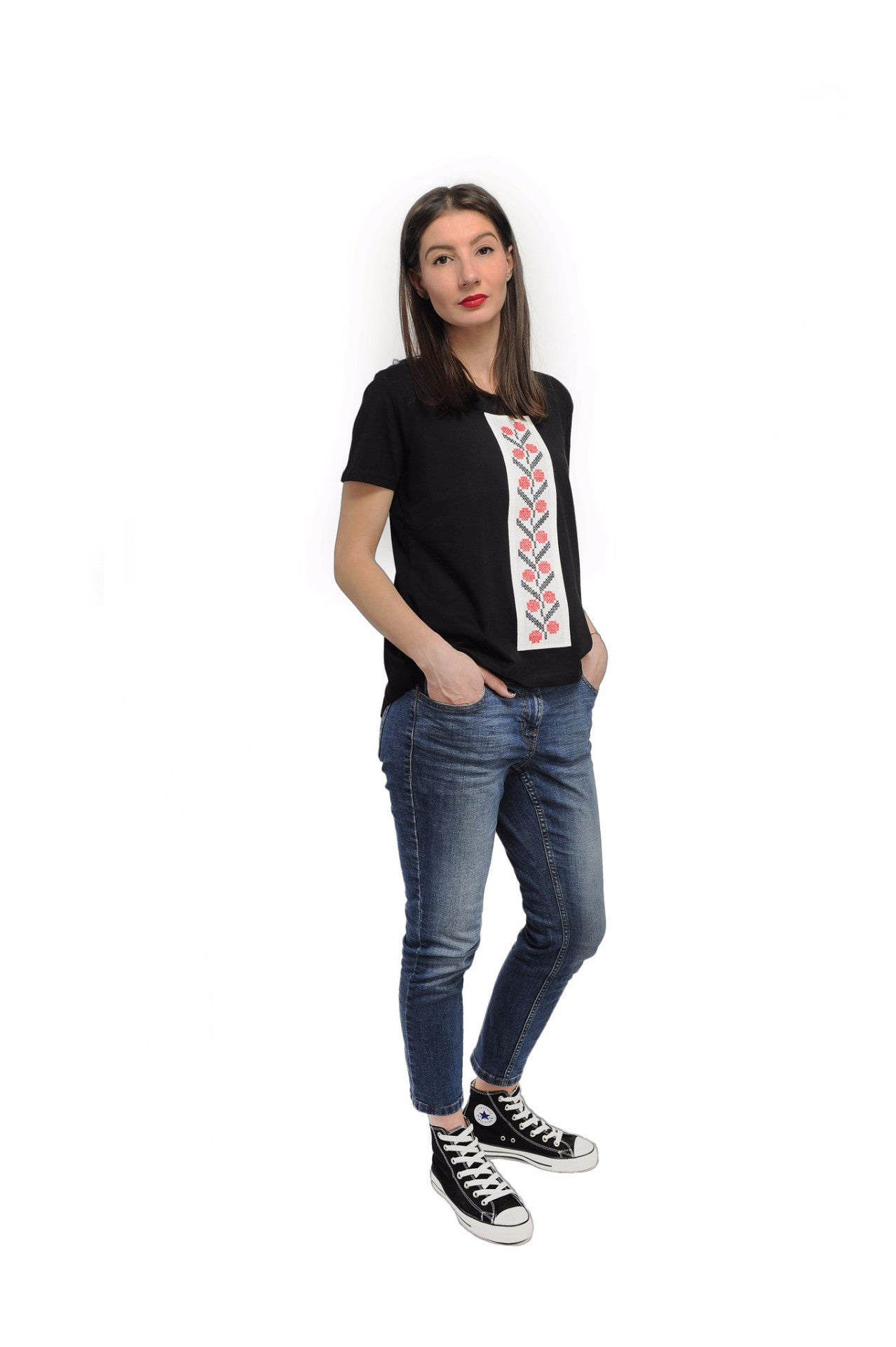 Tricou motiv traditional spic