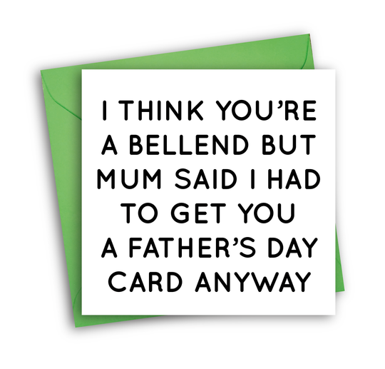 BELLEND (FATHER'S DAY)