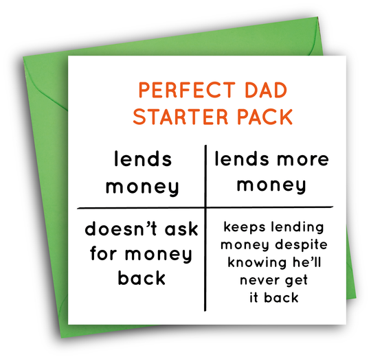 PERFECT DAD STARTER PACK