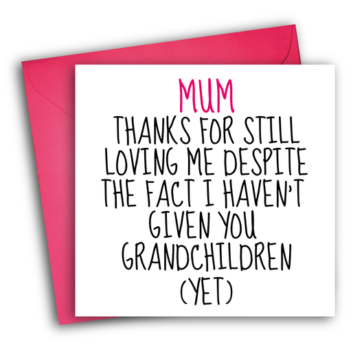 NO GRANDCHILDREN