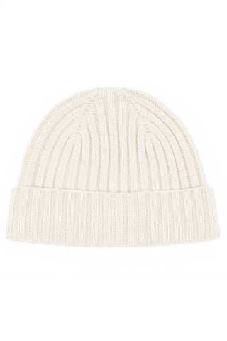 Calluna cashmere hat off-white