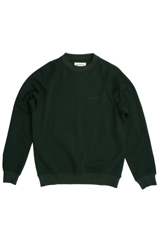 Paris Crew Neck Forest Green