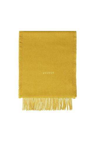 BALTIMORE WOOL SCARF MUSTARD YELLOW