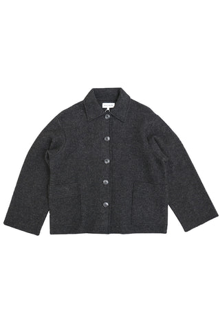 Sometimes boiled wool jacket