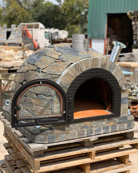 Traditional Wood Fired Brick Pizza Oven - Milano