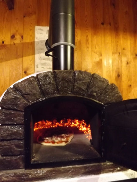 Traditional Wood Fired Brick Pizza Oven - Famosi