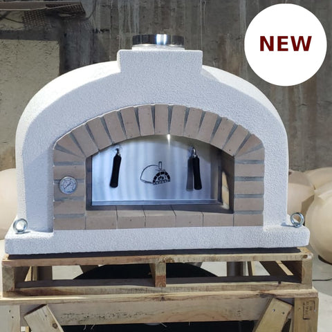 Traditional Wood Fired Brick Pizza Oven - Mediterranean PRO