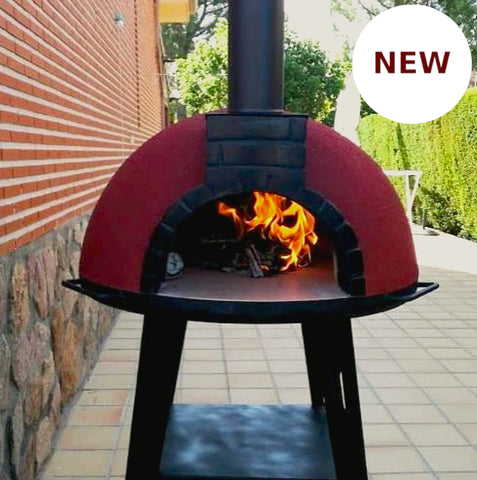 Portable Wood Fired Brick Pizza Oven - Tonío