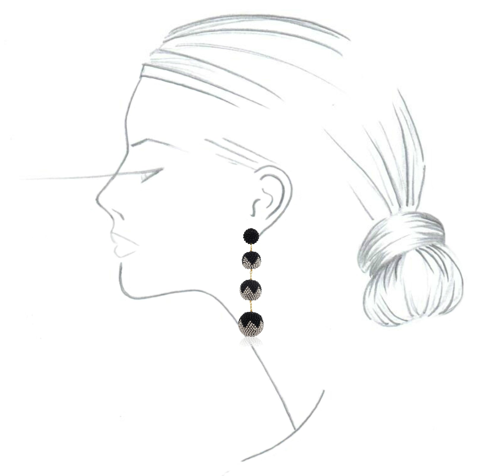 earrings para faces face c mo redondos rostos pin round pendientes for