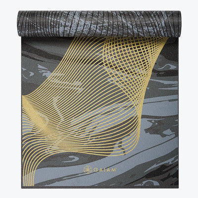 REVERSIBLE METALLIC SPIRAL JOURNEY YOGA MAT (6MM) - Hipimi